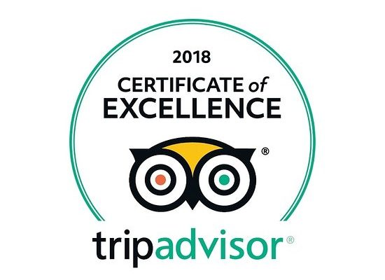 TripAdvisor Certificate of Excellence awarded to the Long Linhay