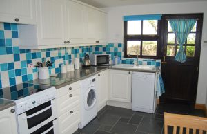 Kitchen at Long Linhay, Mortehoe, North Devon