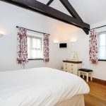 Bedroom at Long Linhay, Mortehoe, North Devon